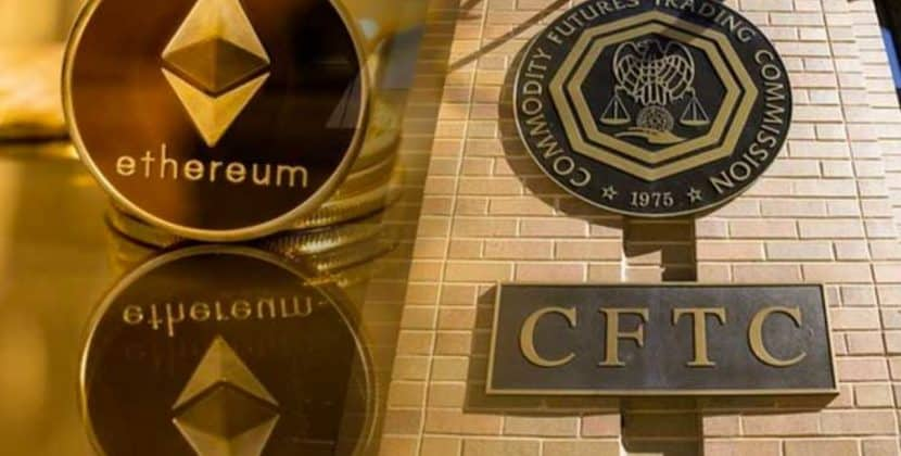 US CFTC Willing to Sanction Ethereum Futures- CFTC Internal Officers Claim