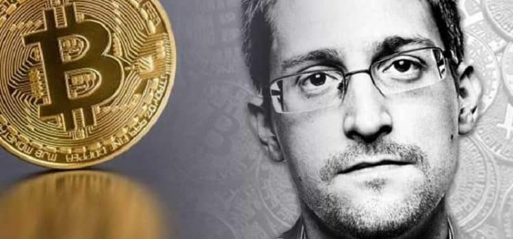 Edward Snowden Says He Might Invest his Wealth in Bitcoin to Avoid Confiscating