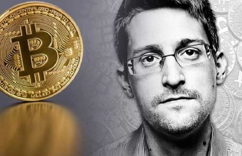 Edward Snowden Says He Might Invest his Wealth in Bitcoin
