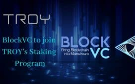 BlockVC to join TROYs Staking Program